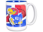 Kansas Jayhawks 15oz. Two Tone Mug Kitchen & Bar