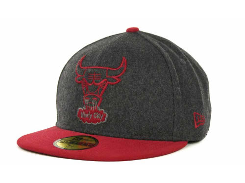 Chicago Bulls New Era NBA Raise Up 59FIFTY Cap Hats