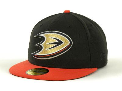 Anaheim Ducks NHL Nefs Basic 59FIFTY Cap Hats