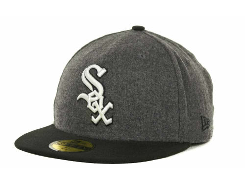 Chicago White Sox New Era MLB Melton Basic 59FIFTY Cap Hats