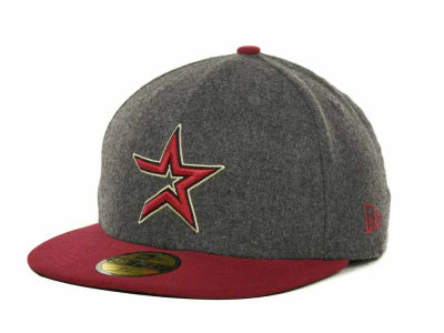 Houston Astros MLB Melton Basic 59FIFTY Cap Hats