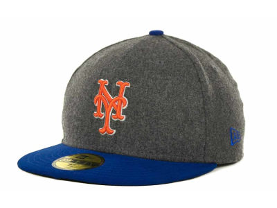 New York Mets MLB Melton Basic 59FIFTY Cap Hats