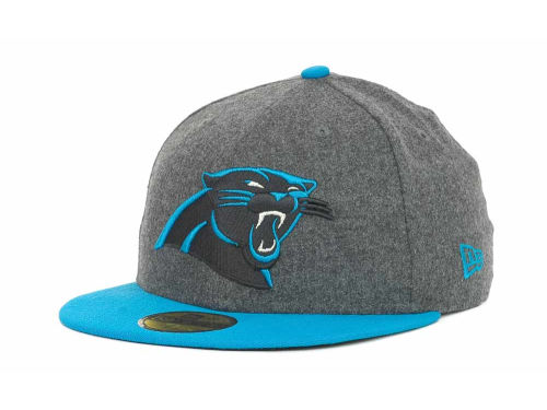 Carolina Panthers New Era NFL Melton Basic 59FIFTY Cap Hats