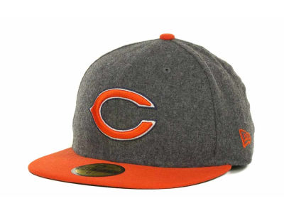 Chicago Bears NFL Melton Basic 59FIFTY Cap Hats
