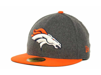 Denver Broncos NFL Melton Basic 59FIFTY Cap Hats