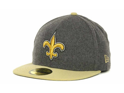 New Orleans Saints NFL Melton Basic 59FIFTY Cap Hats