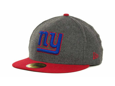 New York Giants NFL Melton Basic 59FIFTY Cap Hats