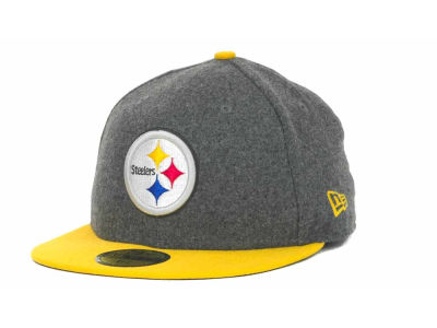 Pittsburgh Steelers NFL Melton Basic 59FIFTY Cap Hats