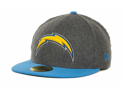 San Diego Chargers NFL Melton Basic 59FIFTY Cap Hats