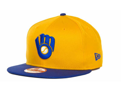 Milwaukee Brewers MLB Turnover Strapback 9FIFTY Cap Hats