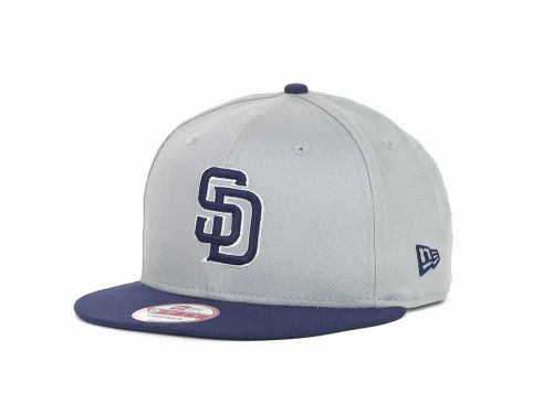 San Diego Padres New Era MLB Turnover Strapback 9FIFTY Cap Hats