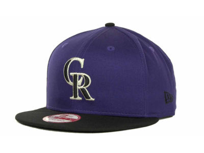 Colorado Rockies MLB Turnover Strapback 9FIFTY Cap Hats