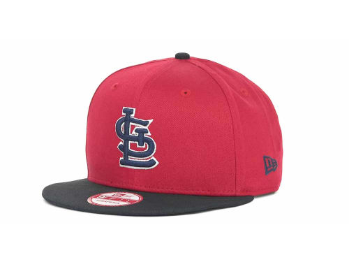 St. Louis Cardinals New Era MLB Turnover Strapback 9FIFTY Cap Hats