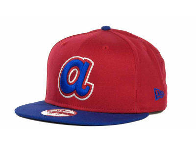 Atlanta Braves MLB Turnover Strapback 9FIFTY Cap Hats