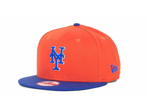 New York Mets New Era MLB Turnover Strapback 9FIFTY Cap Hats