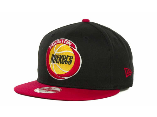 Houston Rockets New Era NBA Hardwood Classics Turnover Strapback 9FIFTY Cap Hats