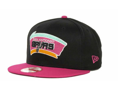 San Antonio Spurs NBA Hardwood Classics Turnover Strapback 9FIFTY Cap Hats