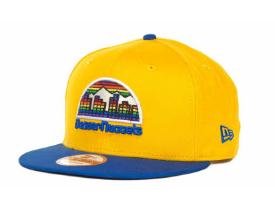 Denver Nuggets NBA Hardwood Classics Turnover Strapback 9FIFTY Cap Hats