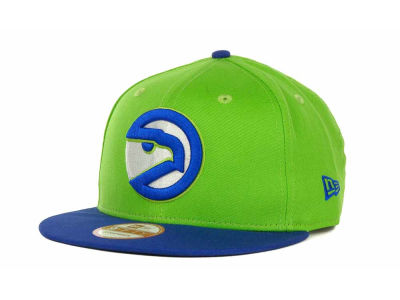 Atlanta Hawks NBA Hardwood Classics Turnover Strapback 9FIFTY Cap Hats