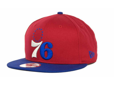 Philadelphia 76ers NBA Hardwood Classics Turnover Strapback 9FIFTY Cap Hats