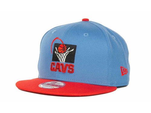 Cleveland Cavaliers New Era NBA Hardwood Classics Turnover Strapback 9FIFTY Cap Hats
