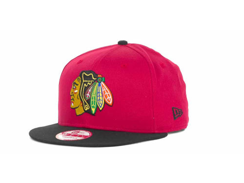 Chicago Blackhawks New Era NHL Turnover Strapback 9FIFTY Cap Hats