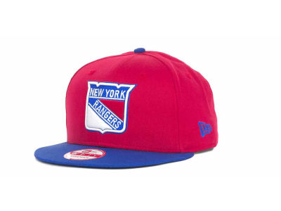 New York Rangers NHL Turnover Strapback 9FIFTY Cap Hats