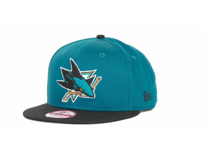 San Jose Sharks NHL Turnover Strapback 9FIFTY Cap Hats