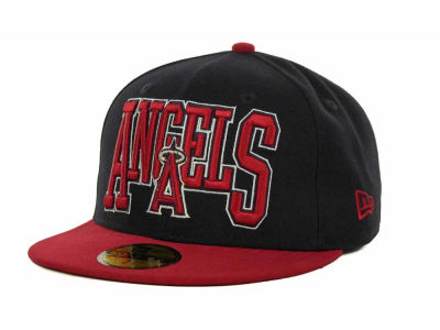 Los Angeles Angels of Anaheim MLB 2TB 59FIFTY Cap Hats