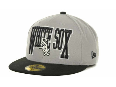 Chicago White Sox MLB 2TB 59FIFTY Cap Hats