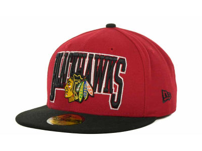Chicago Blackhawks NHL 2TB 59FIFTY Cap Hats