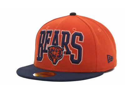 Chicago Bears NFL 2TB 59FIFTY Cap Hats