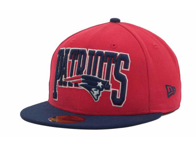 New England Patriots NFL 2TB 59FIFTY Cap Hats