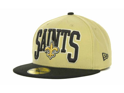 New Orleans Saints NFL 2TB 59FIFTY Cap Hats
