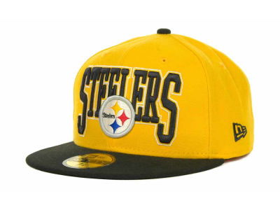 Pittsburgh Steelers NFL 2TB 59FIFTY Cap Hats