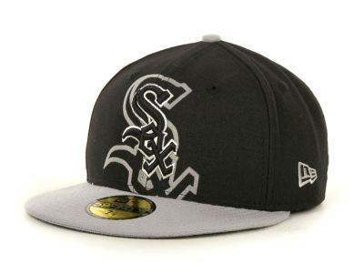 Chicago White Sox MLB Kids Over Flock 59FIFTY Cap Hats