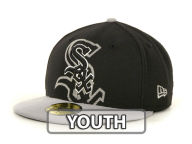 New Era MLB Kids Over Flock 59FIFTY Cap Fitted Hats