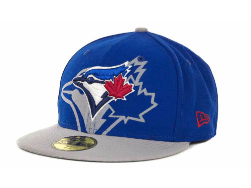 Toronto Blue Jays New Era MLB Kids Over Flock 59FIFTY Cap Hats