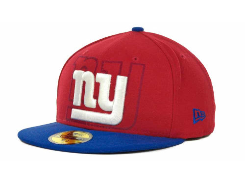 New York Giants New Era NFL Kids Over Flock 59FIFTY Cap Hats