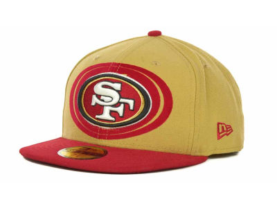 San Francisco 49ers NFL Kids Over Flock 59FIFTY Cap Hats