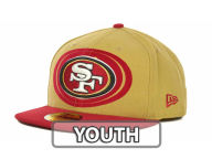 New Era NFL Kids Over Flock 59FIFTY Cap Fitted Hats