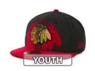 New Era NHL Kids Over Flock 59FIFTY Cap Fitted Hats