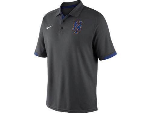 New York Mets Nike MLB AC Dri-Fit Training Polo