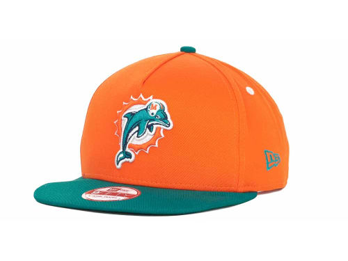 Miami Dolphins New Era NFL Turnover Snapback 9FIFTY Cap Hats