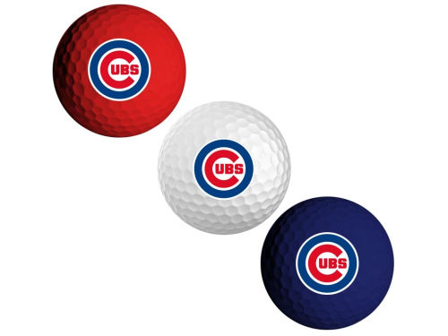 Chicago Cubs 3-pack Golf Ball Set