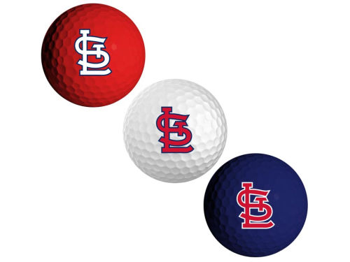 St. Louis Cardinals 3pk Golf Ball Set