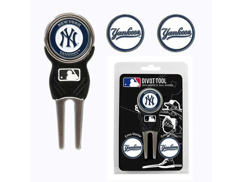New York Yankees Team Golf Divot Tool and Markers