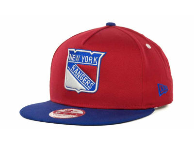 New York Rangers NHL Turnover Snapback 9FIFTY Cap Hats
