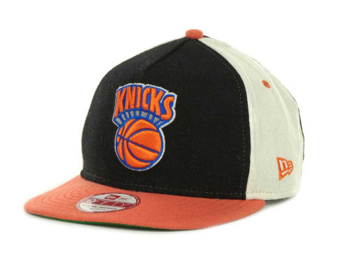 New York Knicks New Era NBA Triple Melt Strapback 9FIFTY Cap Hats