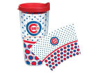 Chicago Cubs Tervis Tumbler 24oz. Polka Dot Tumbler With Lid BBQ & Grilling